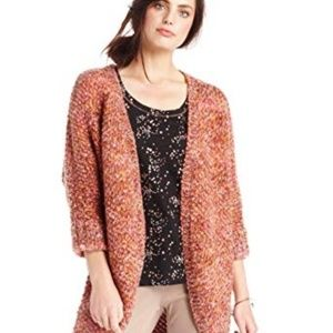Maison Jules Marled Open Front Cardigan